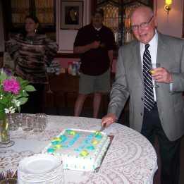 Rev. John Rex Retirement Party
