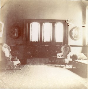 Pullman Memorial Universalist Church Parlor, c. 1900