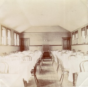 Pullman Memorial Universalist Church Dining Hall, c. 1900