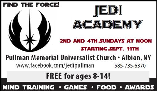 Jedi ad