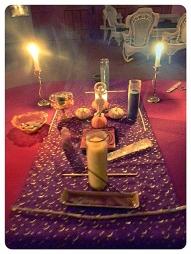 Samhain Table, 2012, Pullman Memorial Universalist Church