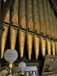 Johnson Organ Pipes Close-up, Pullman Memorial Universalist Church