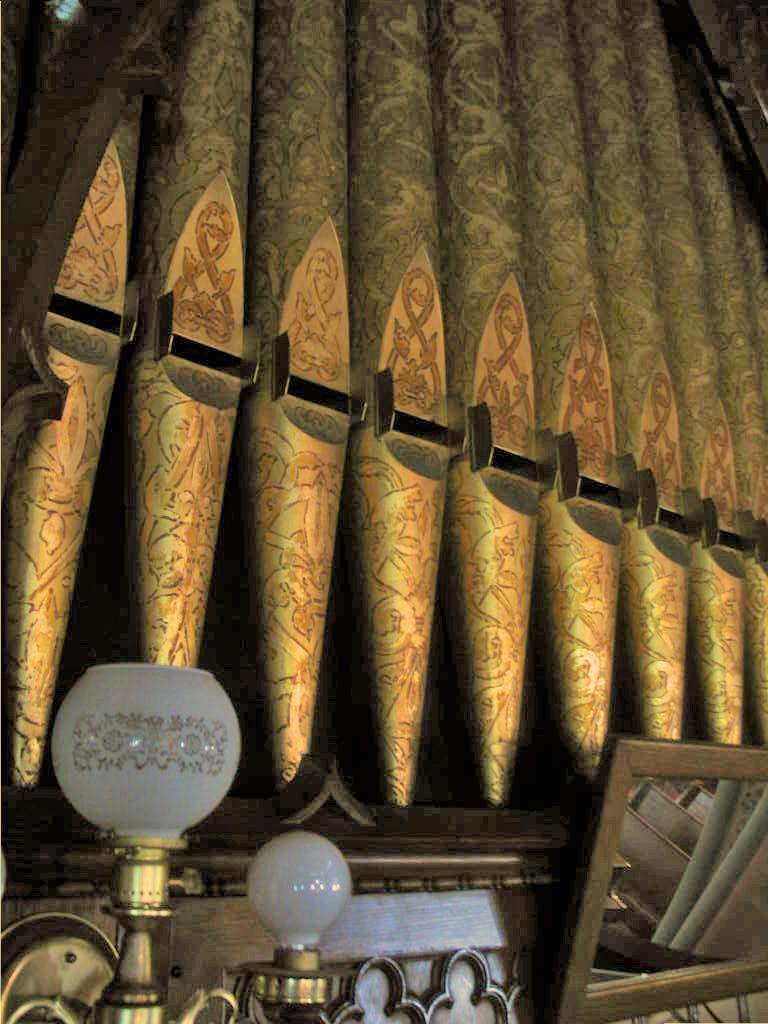 Johnson Organ Pipes Close-up, Pullman Memorial Universalist Church