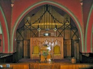 Johnson Pipe Organ, Pullman Memorial Universalist Church