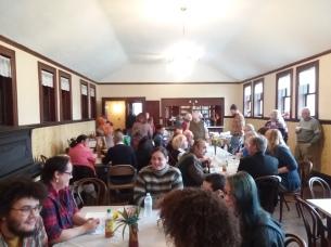 Thanksgiving in the Rev. Don Reidell Dining Hall